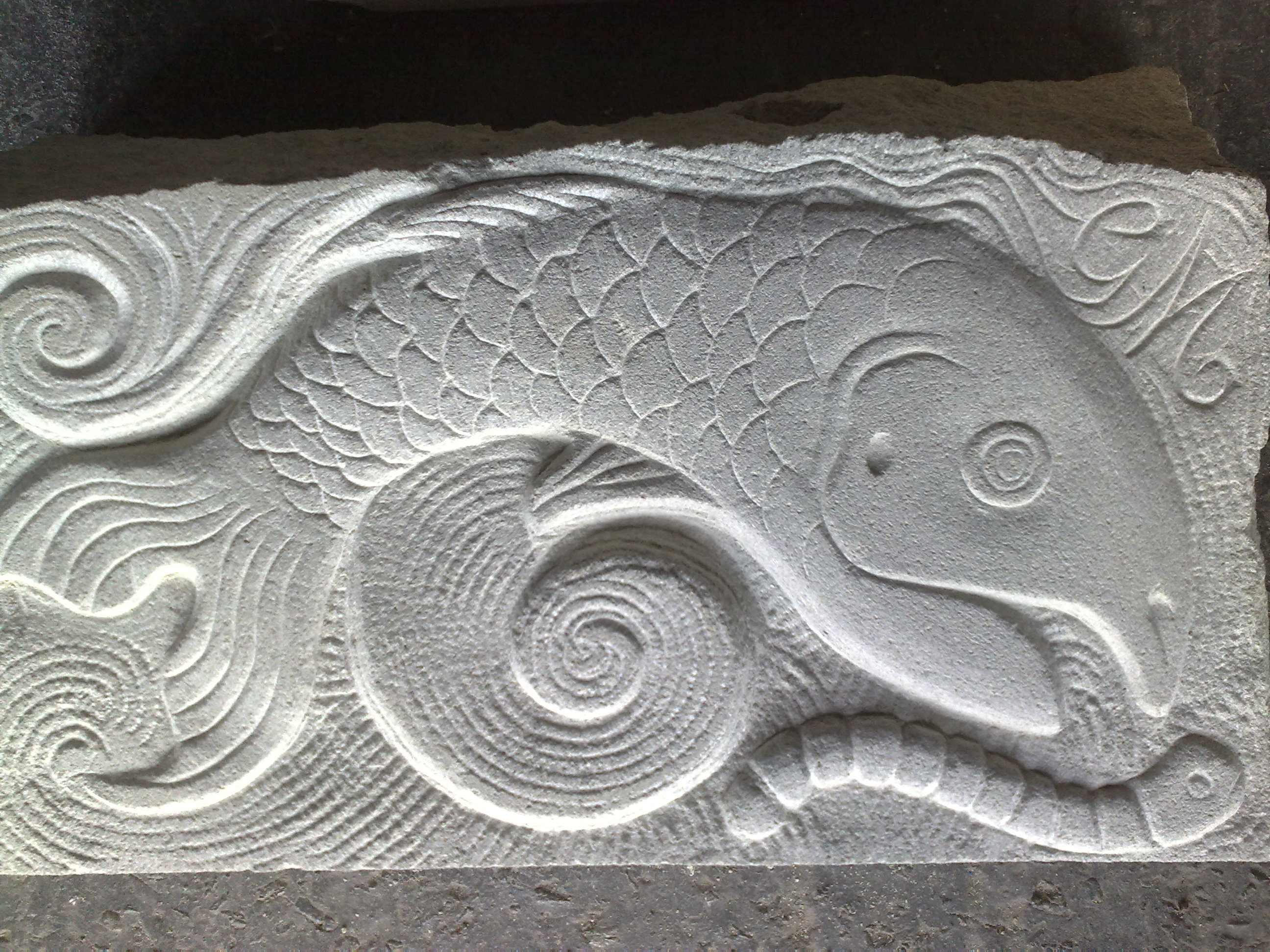 Isle of sleepy graeme mitcheson stone sculptor