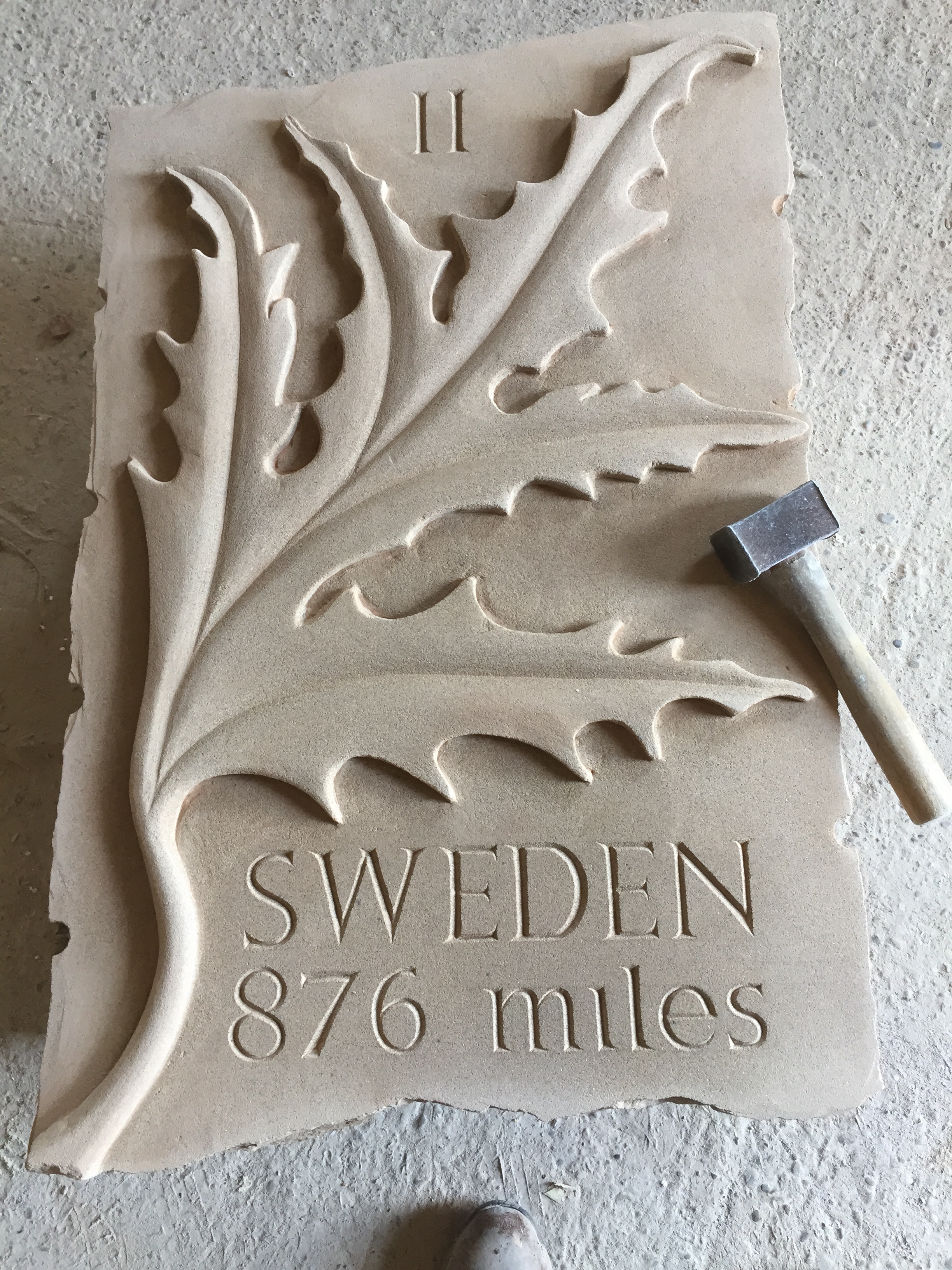 Time for a new sculpture graeme mitcheson stone sculptor