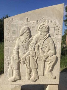 relief carved sculpture